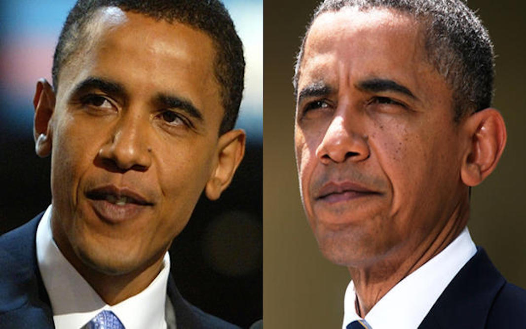 24 Shocking Photos Of U.S. Presidents Before And After Taking Office!