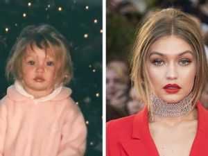 Childhood Photos Of Famous Supermodels